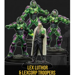 LEX LUTHOR &LEXCORP TROOPERS