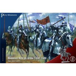 MOUNTED MEN-AT-ARMS 1450-1500 (12 figs)