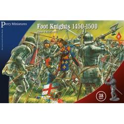 FOOT KNIGHTS 1450-1500 (38 figs.)