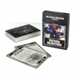 WH40K: TACTICAL OBJECTIVES CARDS (ENG)