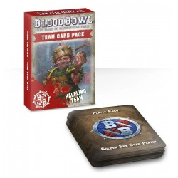 Team Card Pack: Halfling Team (Inglés)